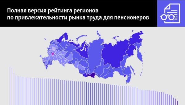 Полная версия рейтинга регионов по привлекательности рынка труда для пенсионеров