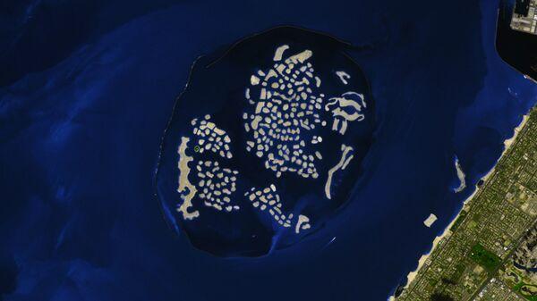 Искусственный архипелаг Мировые острова в ОАЭ