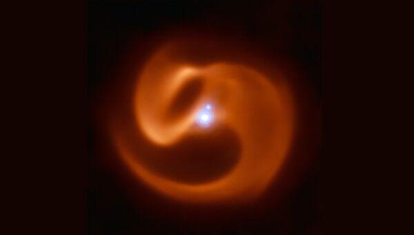 Туманность Апоп, открытая в созвездии Наугольника