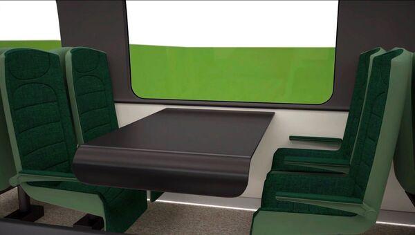 Эконом-класс в высокоскоростном поезде для России