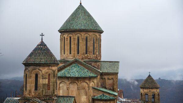 Гелатский монастырь 12 века в Кутаиси