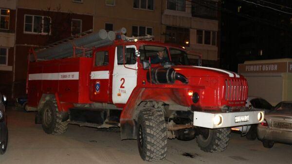 Автомобиль пожарных