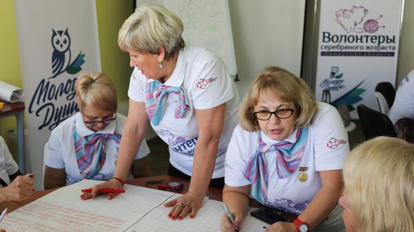 Центр серебряного волонтерства открылся в Новосибирске