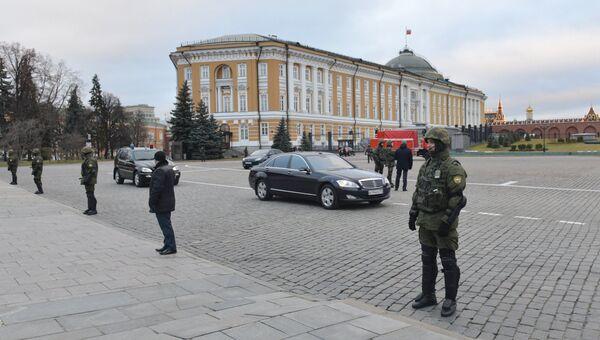 Учения ФСО на территории Московского Кремля. Архивное фото