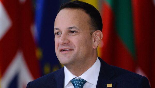 Премьер-министр Ирландии Лео Варадкар на внеочередном саммите ЕС по брекзиту в Брюсселе. 25 ноября 2018