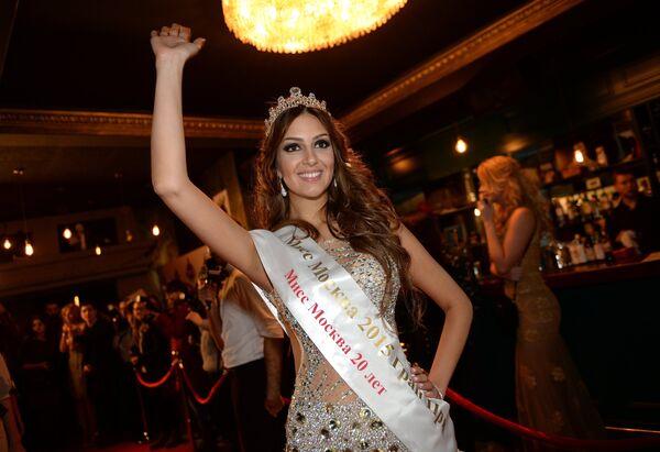 Мисс Москва - 2015 Оксана Воеводина