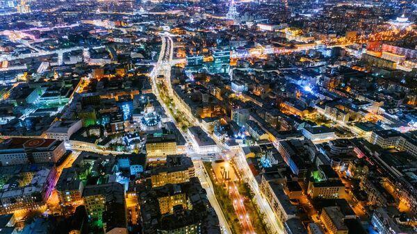 Москва в пятерке самых освещенных городов мира