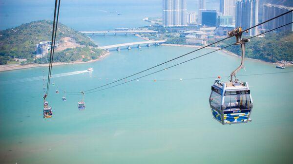 Канатная дорога в Гонконге