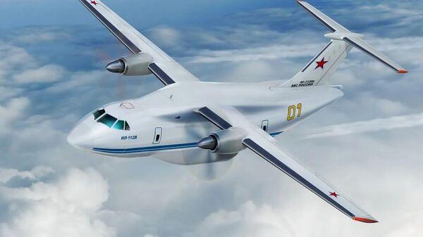 Эскиз самолета Ил-112В