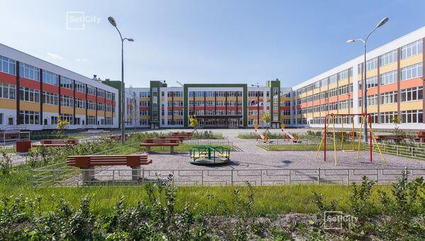 1 сентября для маленьких новоселов ЖК Солнечный город открылась новая школа с бассейном и футбольным полем