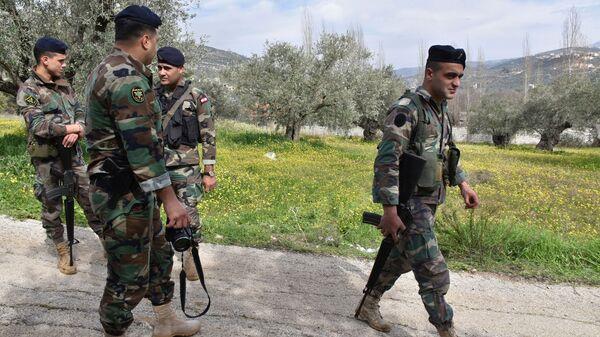 Ливанские военные