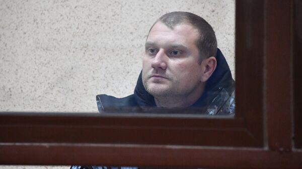 Капитан второго ранга с корабля ВМС Украины Бердянск Денис Гриценко