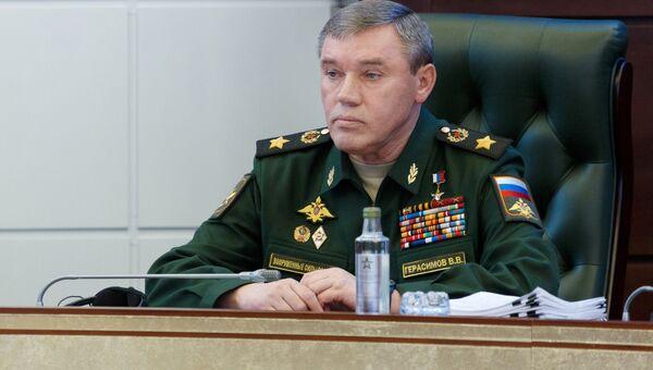 Начальник Генерального штаба Вооруженных сил РФ  генерал армии Валерий Герасимов. Архивное фото