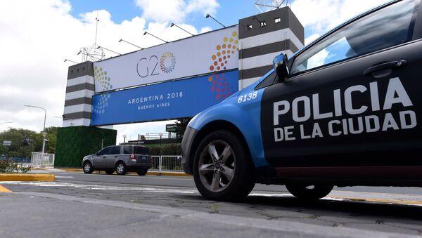 Подготовка к саммиту G20 в Буэнос-Айресе