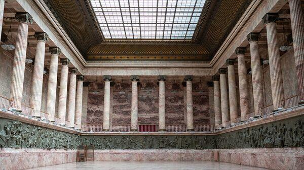 Один из залов Российского этнографического музея, в котором проводятся деловые мероприятия, Санкт-Петербург