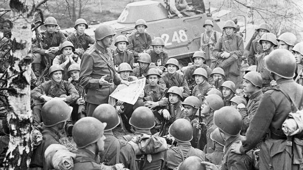 Учения советских войск в ГДР