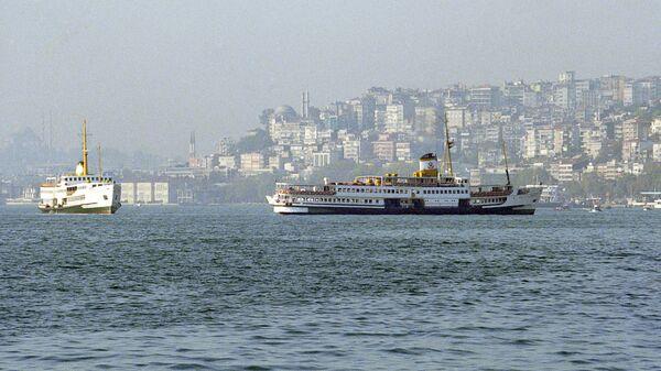 Вид на пролив Босфор
