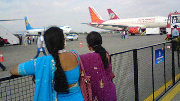 Индия. Аэропорт. Архивное фото
