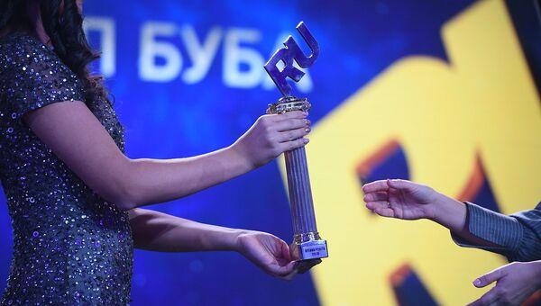 Статуэтка «Премии Рунета-2018»
