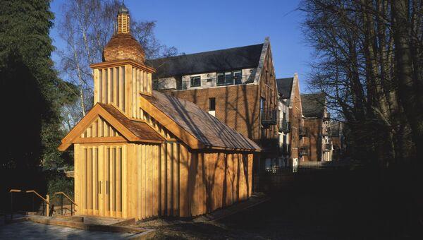 Униатская часовня Белорусской католической миссии в Лондоне, Великобритания. Архивное фото