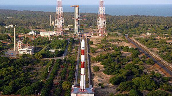 Запуск первой индийской лунной миссии