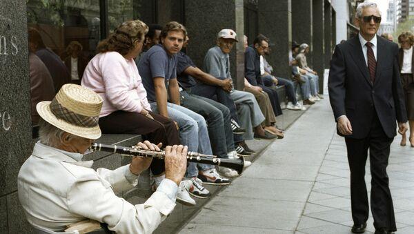 Безработный музыкант