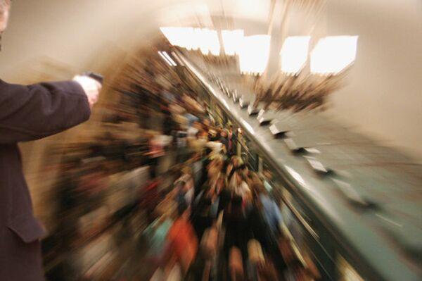 Перестрелка в московском метро