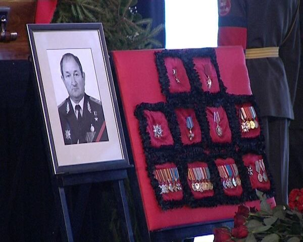 Москва простилась с Героем России генерал-полковником Геннадием Трошевым