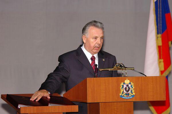 Инаугурация губернатора Хабаровского края