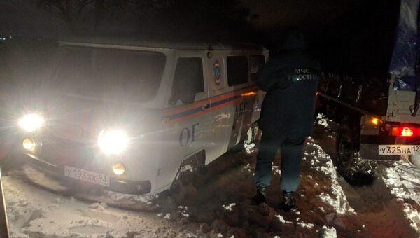 Ситуация на дорогах в Краснодарском крае. 1 декабря 2018