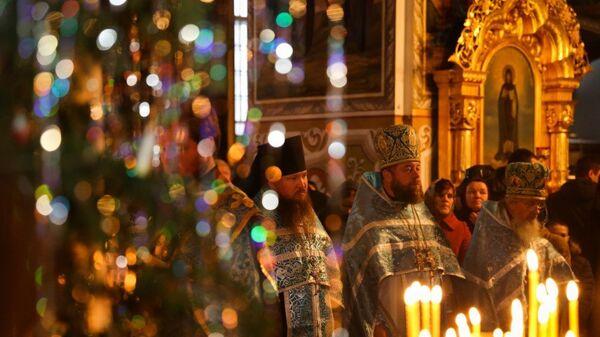 Священники Ровенской епархии УПЦ. Архивное фото