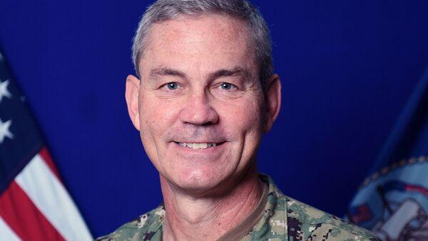 Командующий Пятым флотом ВМС США Скотт Стирни
