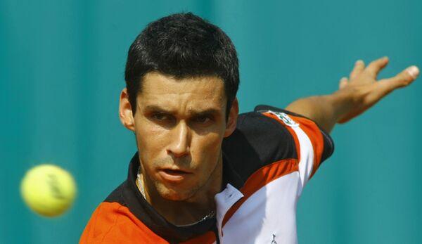Румынский теннисист Виктор Ханеску