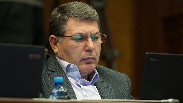 Бывший министр охраны природы Армении Арам Арутюнян
