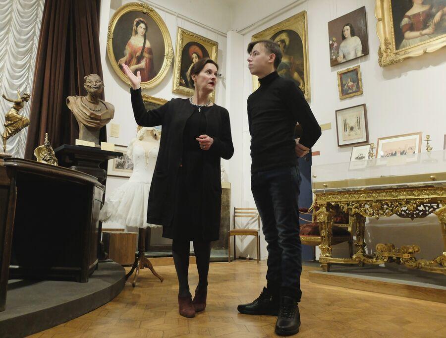 Подопечный «Ангара спасения» Паша Т. в музее