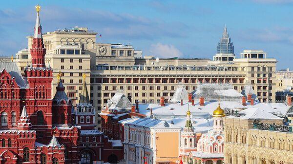 Отель Four Seasons в Москве