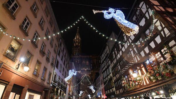 Рождество в Страсбурге