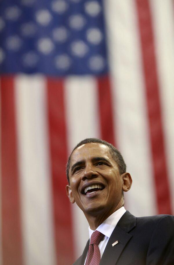 Кандидат в президенты США Барак Обама