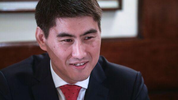 Министр иностранных дел Киргизии Чингиз Айдарбеков