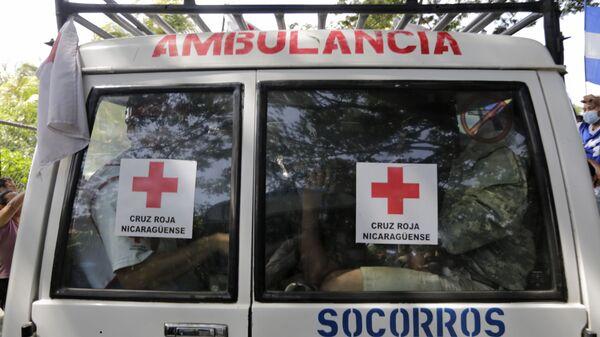 Машина скорой помощи в Никарагуа