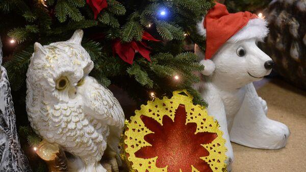 Производство украшений для новогоднего оформления Москвы