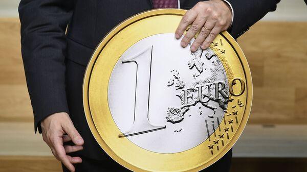 Копия монеты номиналом 1 евро