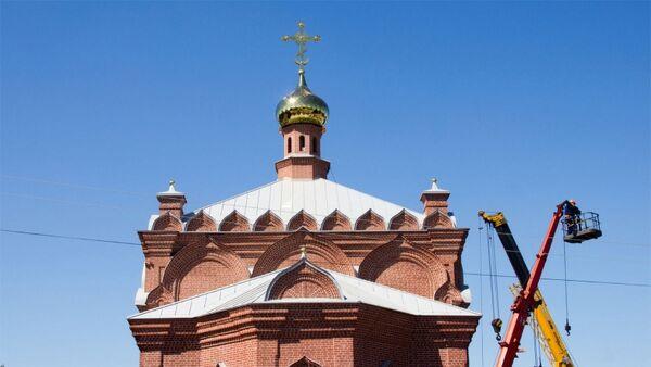 Церковь Знамения в селе Курья в Алтайском крае