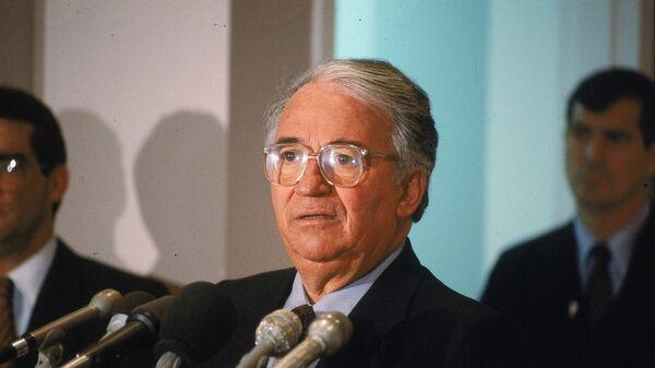 Бывший президент Колумбии Белисарио Бетанкур. Архивное фото