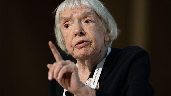 Правозащитник, глава московской хельсинской группы Людмила Алексеева