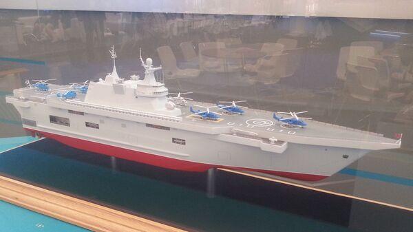"""Десантный корабль типа """"Прибой"""" на выставке """"Армия-2015"""""""