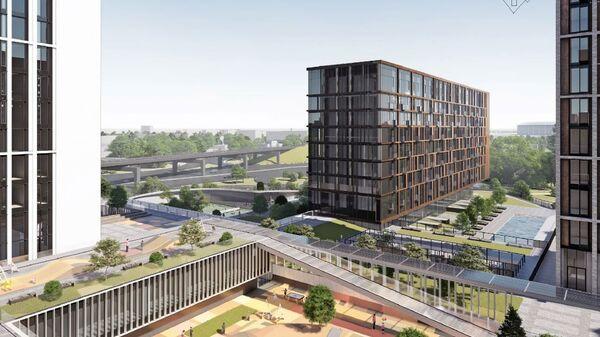 Проект многофункционального жилого комплекса по адресу: Москва, 1-й Сетуньский проезд, вл. 6-10.