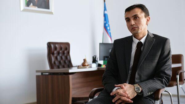 Генеральный консул Республики Узбекистан в Екатеринбурге Абдусалом Хатамов