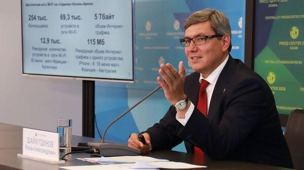 Заместитель премьер-министра Республики Татарстан, министр информатизации и связи Республики Татарстан Роман Шайхутдинов