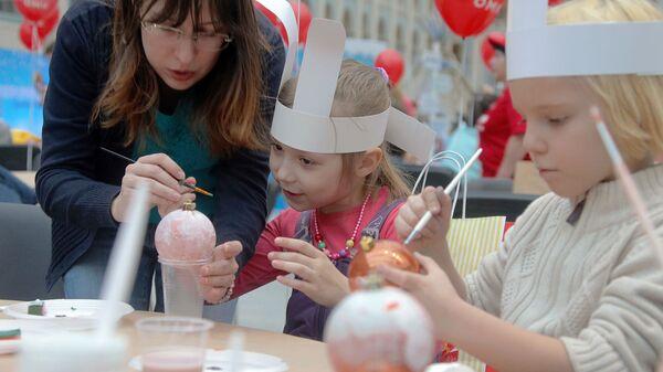 В Гостином дворе прошла новогодняя благотворительная ярмарка Душевный Bazar